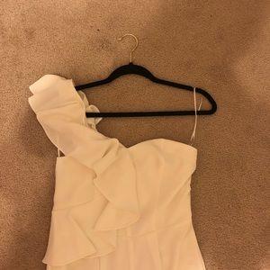 White CeCe jumpsuit